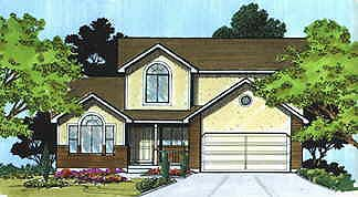 Traditional House Plan 70418 Elevation