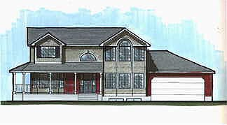 Country House Plan 70419 Elevation