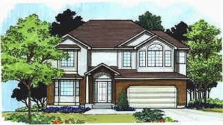 Traditional House Plan 70421 Elevation