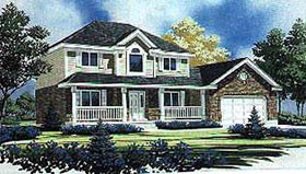 Country House Plan 70422 Elevation