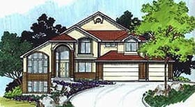 Traditional House Plan 70428 Elevation