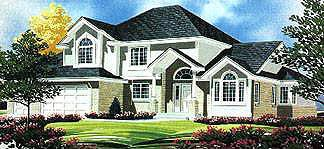Traditional House Plan 70429 Elevation