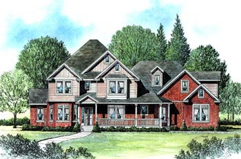 Victorian House Plan 70430 Elevation