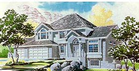 Colonial House Plan 70431 Elevation