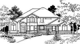 Traditional House Plan 70433 Elevation