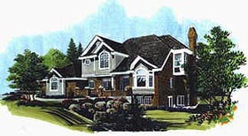 Plan Number 70434 - 2650 Square Feet