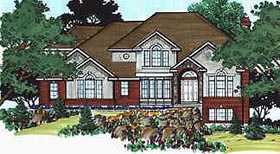 Plan Number 70435 - 2660 Square Feet