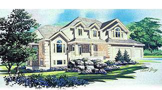Traditional House Plan 70438 Elevation