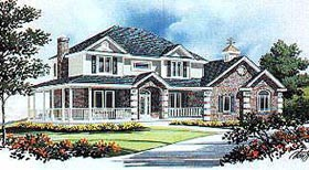Country House Plan 70442 Elevation