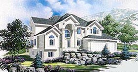Traditional House Plan 70443 Elevation