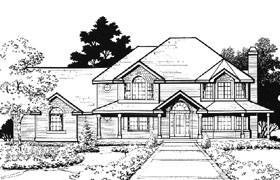 Victorian House Plan 70444 Elevation