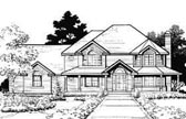 Plan Number 70444 - 2949 Square Feet