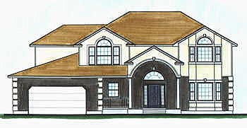 Traditional House Plan 70446 Elevation