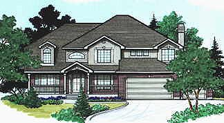 Country House Plan 70449 Elevation