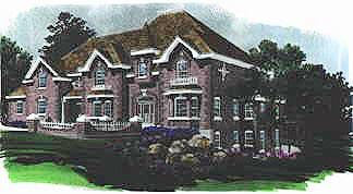 Victorian House Plan 70450 Elevation