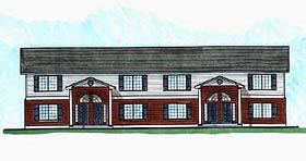 Multi-Family Plan 70453