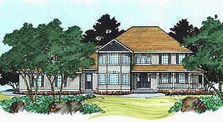 Country House Plan 70468 with 3 Beds, 3 Baths, 3 Car Garage Elevation