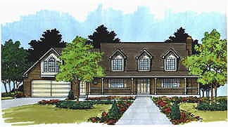 Cape Cod House Plan 70470 Elevation