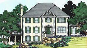Southern House Plan 70472 Elevation