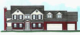 Country House Plan 70475 Elevation