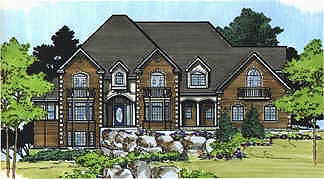 Victorian House Plan 70477 Elevation