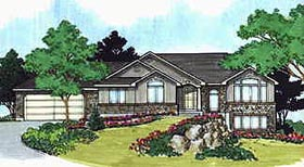 Traditional House Plan 70480 Elevation
