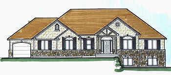 Traditional House Plan 70481 Elevation