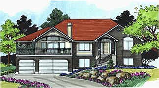 Traditional House Plan 70482 Elevation