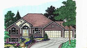 Traditional House Plan 70483 Elevation