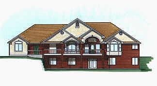 Traditional House Plan 70485 Elevation