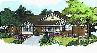 Traditional House Plan 70494 Elevation