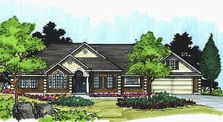 Traditional House Plan 70497 Elevation