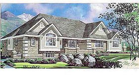 Traditional House Plan 70499 Elevation