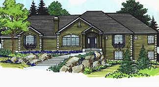 Traditional House Plan 70500 Elevation