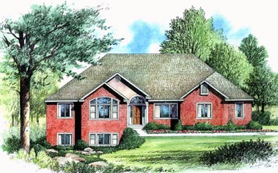 Traditional House Plan 70502 Elevation