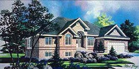 Traditional House Plan 70503 Elevation