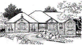Traditional House Plan 70504 Elevation