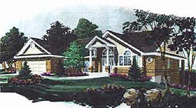 Colonial House Plan 70505 Elevation