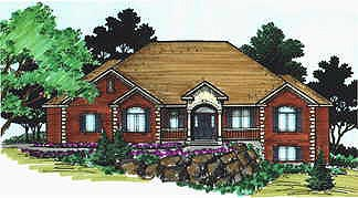 Colonial House Plan 70507 Elevation