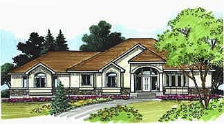 Traditional House Plan 70510 Elevation