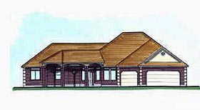 Traditional House Plan 70511 Elevation