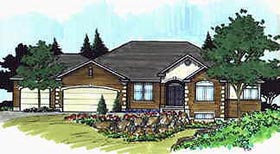 Traditional House Plan 70514 Elevation