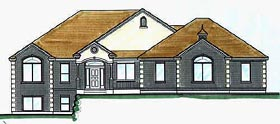 Traditional House Plan 70516 Elevation