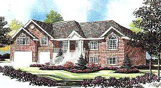 Traditional House Plan 70520 Elevation