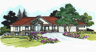 Traditional House Plan 70521 Elevation