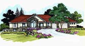 Plan Number 70521 - 3308 Square Feet