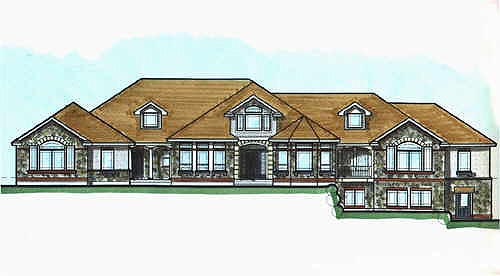 Victorian House Plan 70522 Elevation