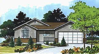 Traditional House Plan 70526 Elevation