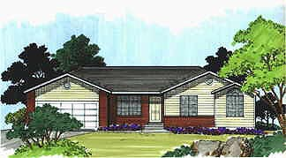 Traditional House Plan 70530 Elevation