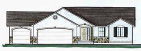 Traditional House Plan 70531 Elevation